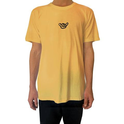 PURE APPAREL PARADER VAN (AIN'T WORKING) - YELLOW MENS TEE
