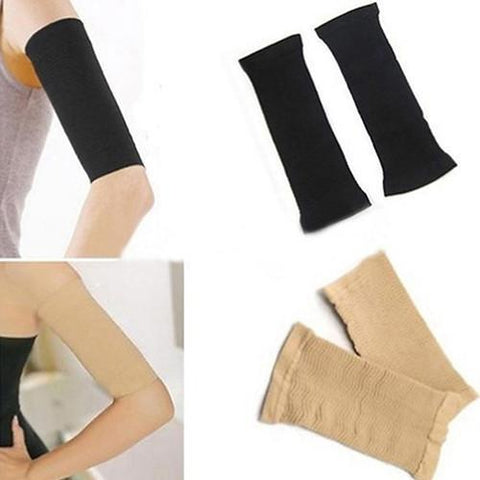 Compression sleeves for flabby arms
