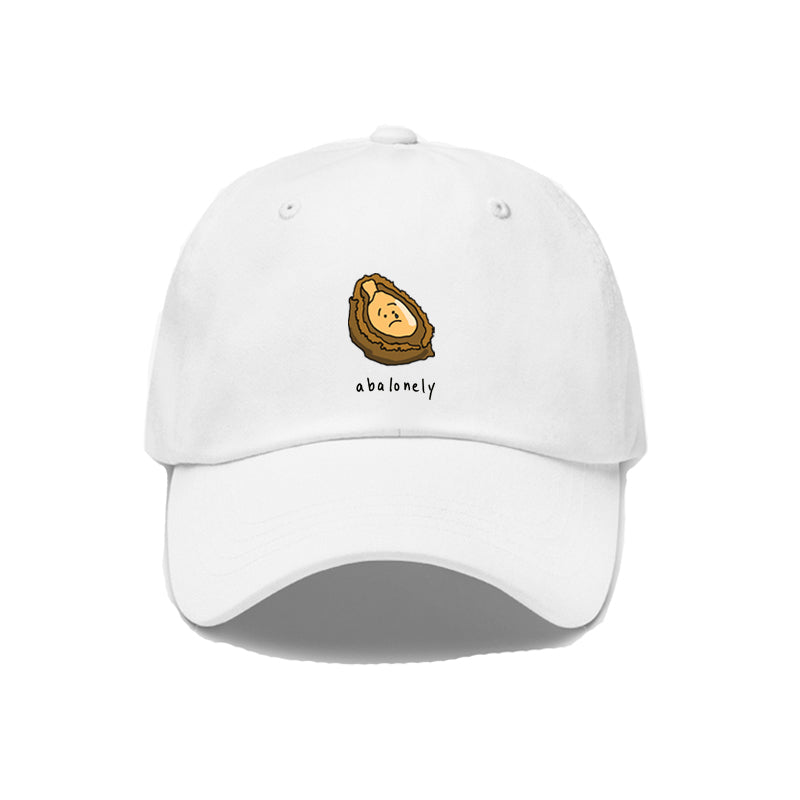Abalonely Dad Cap - White