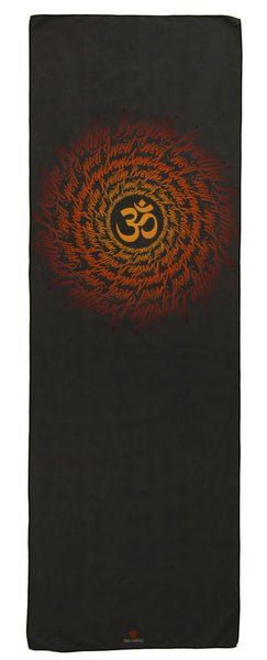 """Breathe"" Microfiber Yoga Towel"