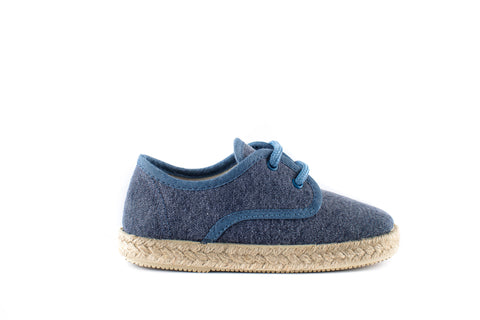 BLUCHER WASHED CANVAS