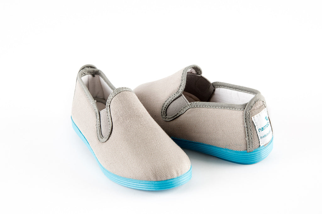 SLIP-ON CANVAS COLOR SOLE