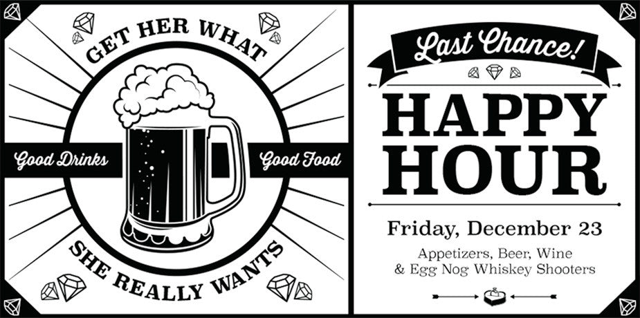 Happy Hour - Friday December 23