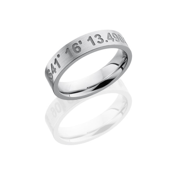 Coordinates Cobalt Chrome Band