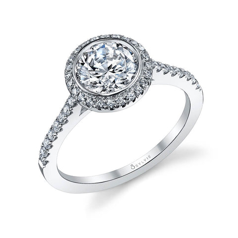 Sylvie Collection Anita Diamond Engagement Ring