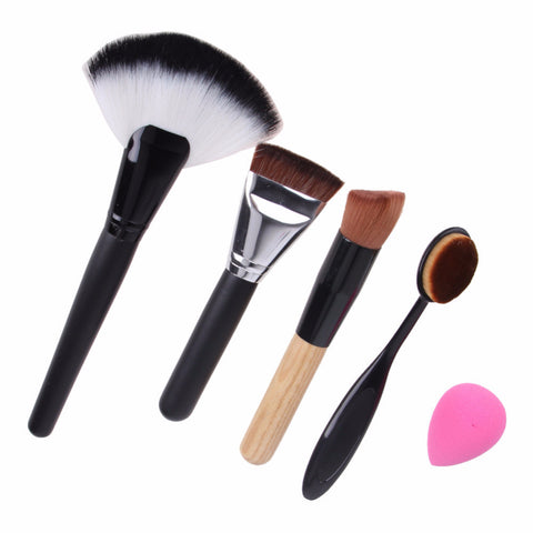 5 pcs All in One Brush & Sponge Kit