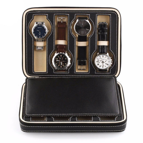 8 Watch Travel Case