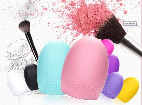 Makeup Brush Cleaning egg