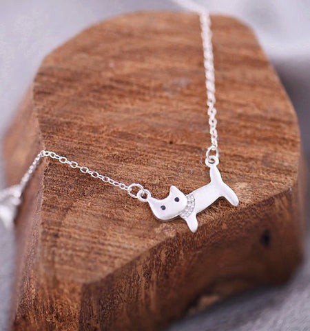 Cat 925 Sterling Silver Necklace