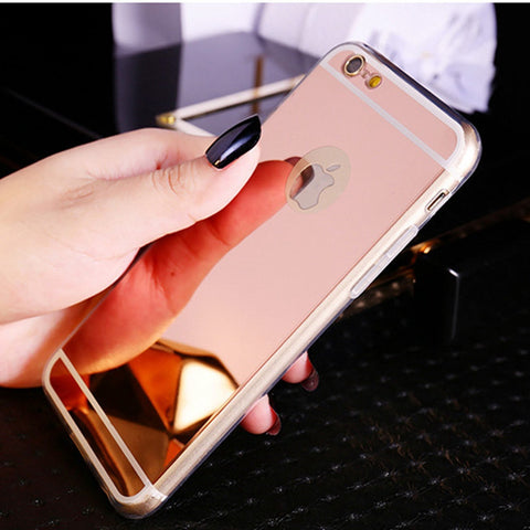 Mirror Ultra Slim Case For Iphone 5 5S 5C SE