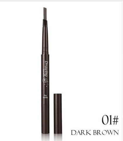 Waterproof Double Head Automatic Eyebrow Pencil