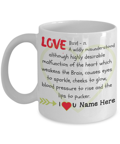 """Love"" Mug (Insert Name)"