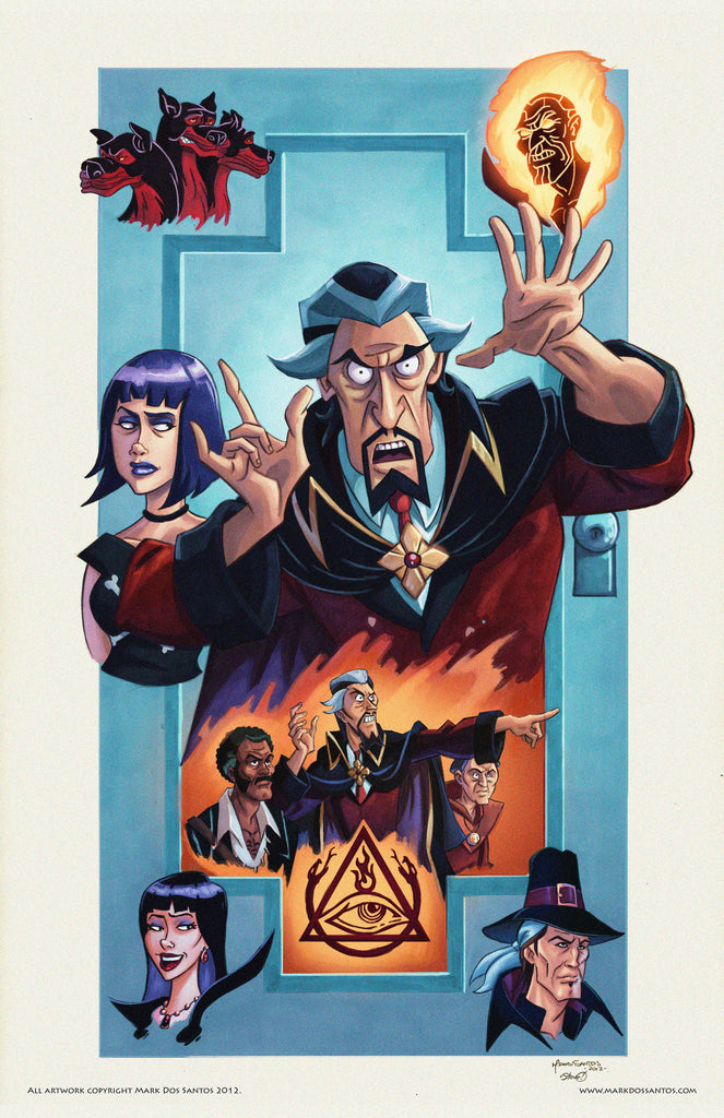 The Venture Brothers - Doctor Orpheus and the Triad