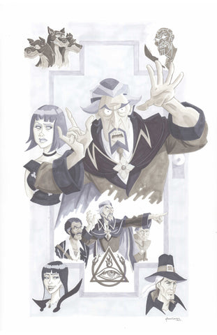 Venture Brothers - Doctor Orpheus and the Triad