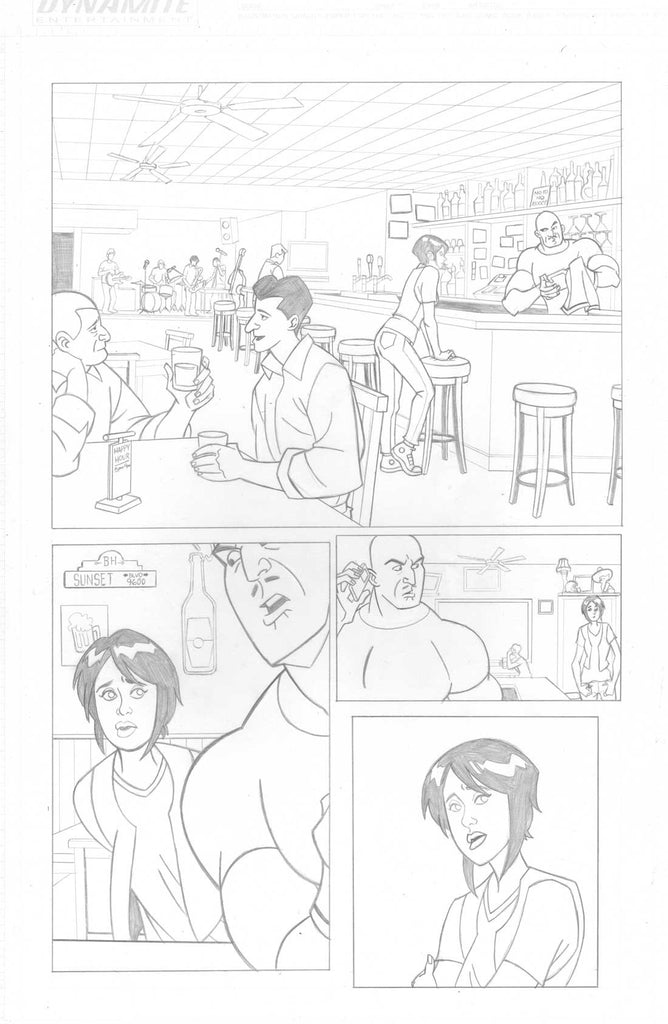 A Train Called Love Issue #1 Page #1