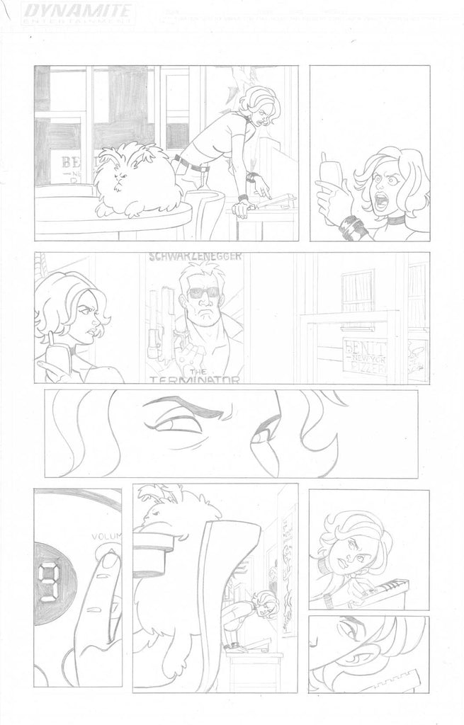 A Train Called Love Issue #1 Page #3
