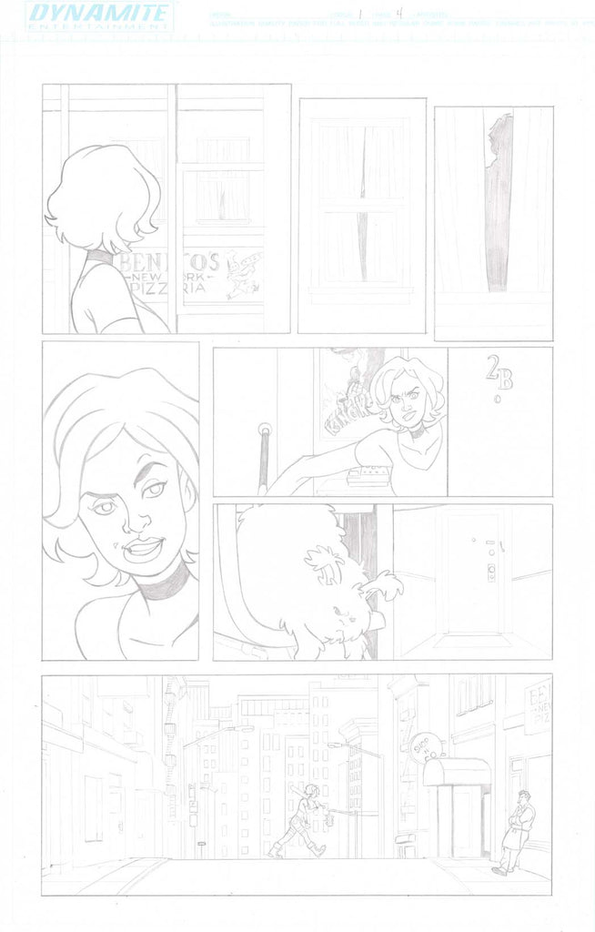 A Train Called Love Issue #1 Page #4