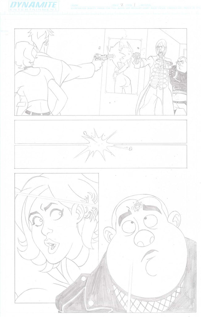 A Train Called Love Issue #2 Page #1