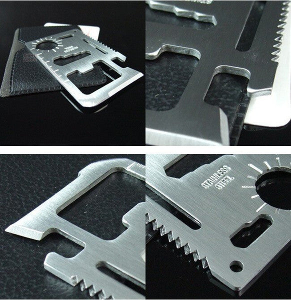 11 in 1 Card Sized Multitool
