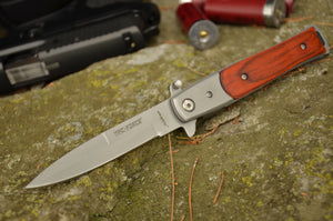 Tac Force Stiletto (Redwood Handle)