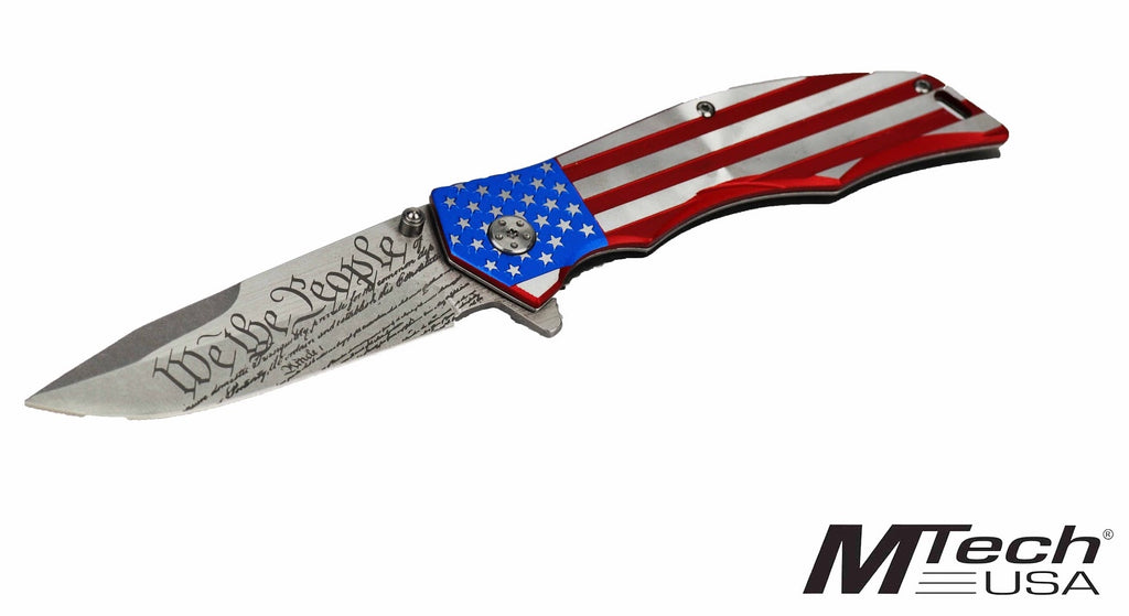 "MTECH ""We The People"" Knife"