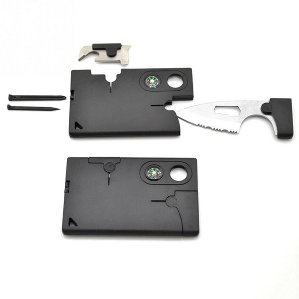 10 in 1 Tactical Credit Card Survival Tool
