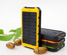 Load image into Gallery viewer, Waterproof  Solar Powered Cellular Power Bank