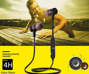 Smart Wireless Bluetooth Sports Earbuds