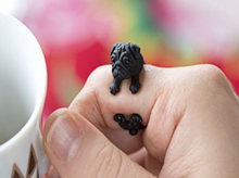 Load image into Gallery viewer, Famous Handmade Pug Pal Rings