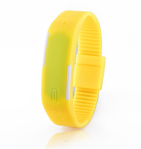 Unisex Touch Screen LED Silicone Watch
