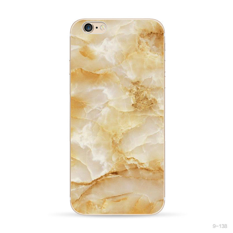 iPhone Amber Crystal Marble Case