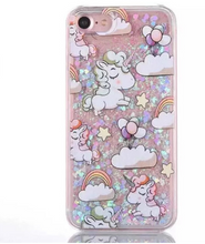 Load image into Gallery viewer, iPhone Baby Unicorn Glitter  Case