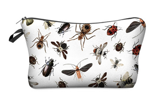 "Stashit Glam Makeup Bag - ""Bugs"""
