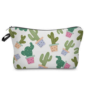 "Stashit Glam Makeup Bag - ""Cactus"""