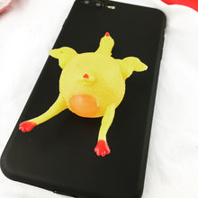 Load image into Gallery viewer, iPhone Squishy Case - Chicken Little Lays An Egg