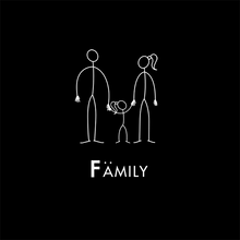 Load image into Gallery viewer, Family by STICKIT - Dad, Mom & Daughter
