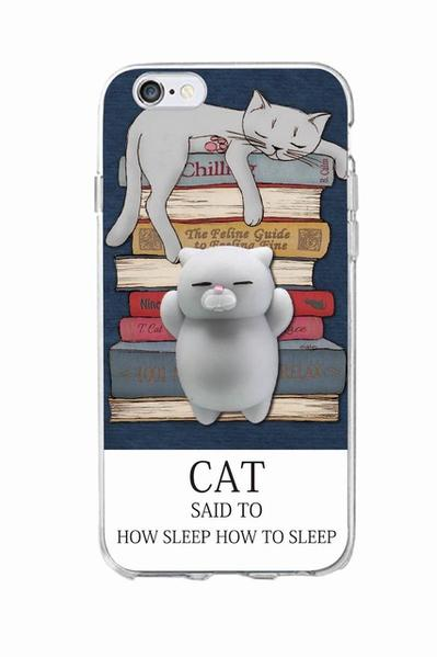 iPhone Squishy Case -Kitty Nap