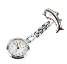Load image into Gallery viewer, Silver Dolphin FOB Nurse Watches