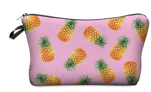 "Stashit Glam Makeup Bag - ""Pineapples"""