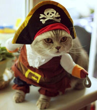 Load image into Gallery viewer, Pirate Cat Costume