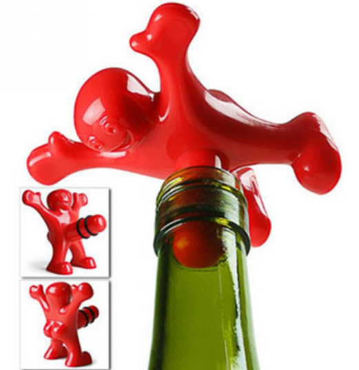 Sir Perky Bottle Stopper Accessory