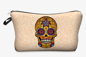 "Stashit Glam Makeup Bag - ""Sugar Skull"""