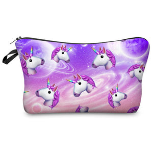 "Stashit Glam Makeup Bag - ""Unicorn in Space"""