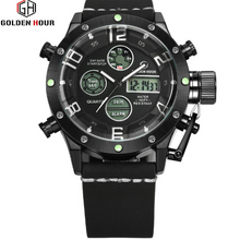 Load image into Gallery viewer, Men's Dual Time Sports Watch
