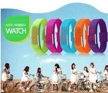 Load image into Gallery viewer, Unisex Touch Screen LED Silicone Watch
