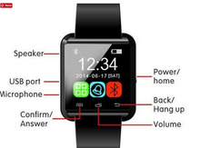 Load image into Gallery viewer, Bluetooth Smart Sports Watch