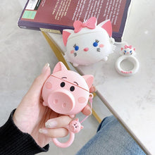 Load image into Gallery viewer, airpod pig silicone case