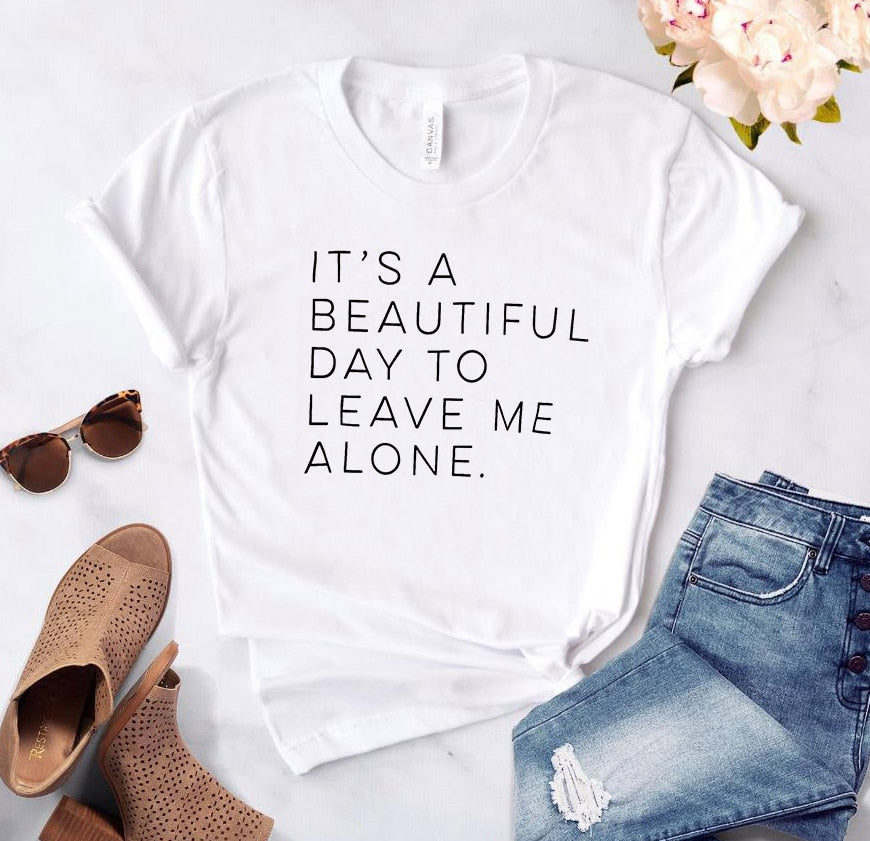 Word T-Shirt - It's a beautiful day