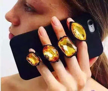 Load image into Gallery viewer, iPhone Bling Ring Case