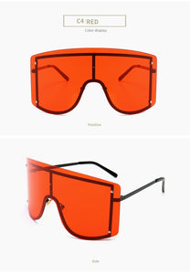 over-sized sunglasses |chickletsandbananas.com